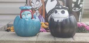 Nightmare Before Christmas Pumpkin Set for Sale in Bartlett, IL