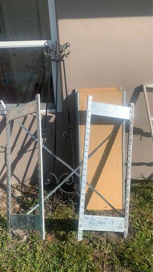 Heavy duty shelf/scrap metal for Sale in Deltona, FL