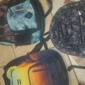 Billabong Backpack And Jansport for Sale in Oceanside, CA