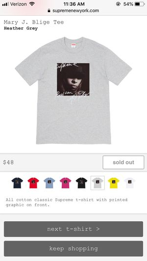 Supreme Mary J. Blige Tee for Sale in Hillsboro, OR