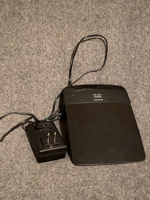 Cisco Linksys E1200 Wireless Network N Router for Sale in San Jose, CA