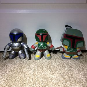 Star Wars Action Figures Vintage Vinyl Funko Pop Boba Fett Mighty Muggs for Sale in Walnut Creek, CA