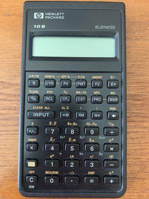 HP 10B Business Calculator for Sale in Bluffton, SC