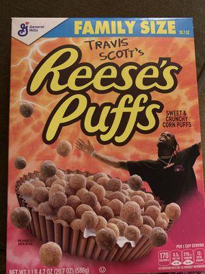 Reese's puffs Travis Scott for Sale in Aurora, IL