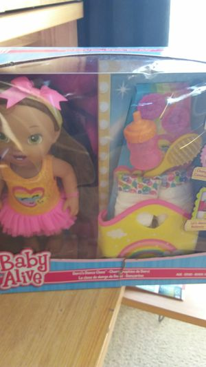 Baby alive doll with accessories for Sale in Sacramento, CA