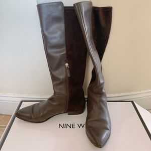 Nine West brown boots size 9 for Sale in Cambridge, MA