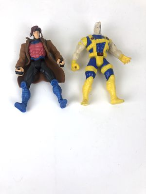 Enlarge Marvel X-Men X-Force Cyborg Cable Action Figure 1995 Loose / Complete Toy Biz and Gambit set of 2 for Sale in Santa Clara, CA
