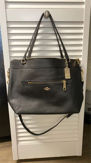 Coach Tyler Crossbody Tote Excellent Condition for Sale in Palm Bay, FL