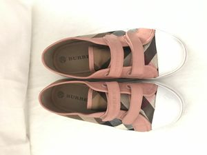 Checkers Velcro sneakers, Burberry, size 5.5, euro 35 for Sale in Walnut, CA