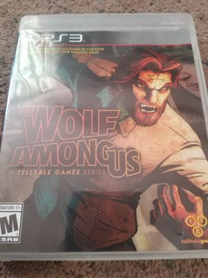 Ps3 brand new wolf among us game for Sale in Klamath Falls, OR