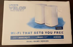 NEW Linksys Velop AC2400 Dual-Band Mesh Whole home Wi-Fi System up to 3000sq ft. for Sale in Brentwood, TN