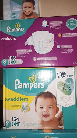 Pampers diapers all sizes for Sale in Mesa, AZ
