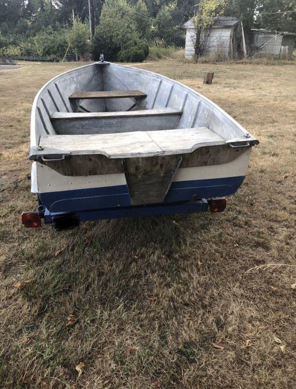 Aluminum boat 11ft