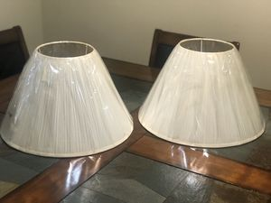 New Beige Lamp Shades for Sale in Garden Grove, CA