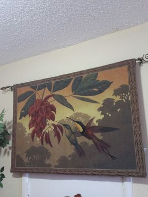 Riddle home gift tapestry wall hanging - Birds&florar for Sale in West Palm Beach, FL