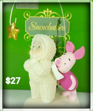 "Snowbabies Disney Showcase Collection ""Wish Upon a Star"" Piglet Figurine for Sale in Pittsburgh, PA"