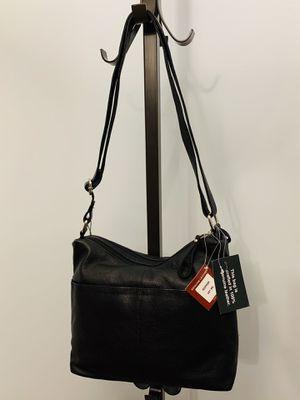 NWT! 100% Genuine Leather Adjustable Crossbody Bag for Sale in Alexandria, VA