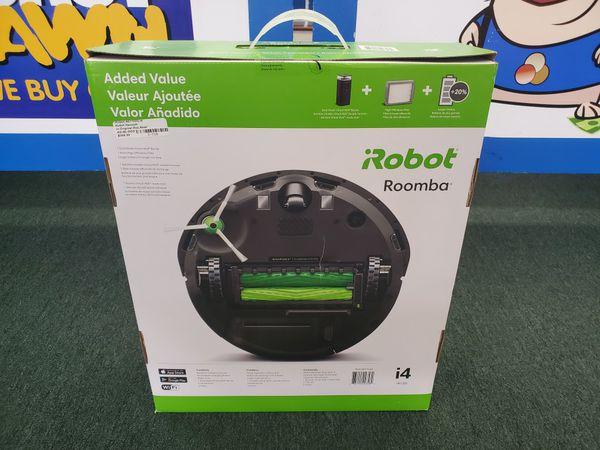 iRobot Roomba i4 Wi-Fi Connected Robot Vacuum