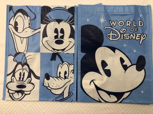 World Of Disney Mickey Disney Reusable Shopping Tote Bag Small NEW with TAGS for Sale in Washington, DC