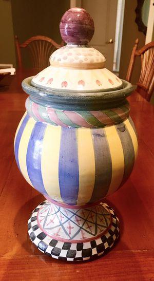 Mackenzie Child's cookie jar for Sale in Rockville, MD