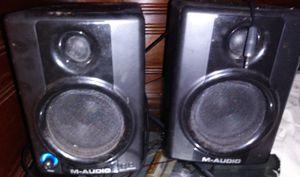 M-AUDIO SPEAKERS for Sale in Detroit, MI