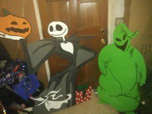 Nightmare before Christmas Jack and ogey bogey for Sale in Parlier, CA
