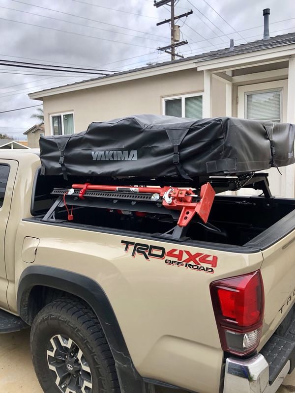 Offer Up San Diego >> Tacoma Roof Top Tent and Bed Rack for Sale in San Diego, CA - OfferUp