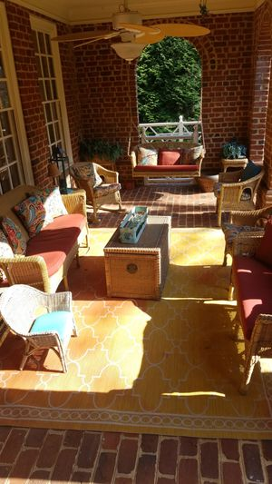 8 pieces outdoor wicker furniture for Sale in Rockville, MD