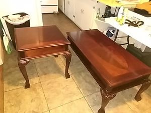 Coffee table and end table for Sale in Jay, OK