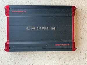 1800 watts amp for Sale in San Diego, CA