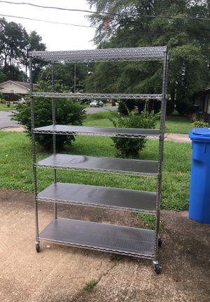 Storage shelf on wheels for Sale in Chesapeake, VA