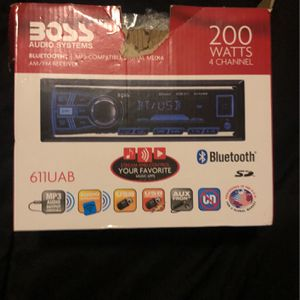 Boss audio system stereo for Sale in San Diego, CA