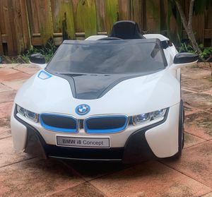 Power wheels, ride on toys, toy car, baby car, toddlers Electric kids car BMW i8 concept for Sale in Hallandale Beach, FL