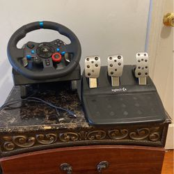 Ps4 Wheel, Pedals for Sale in Alexandria,  VA