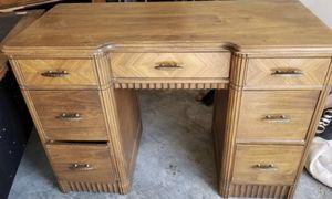 Desk (real heavy wood) for Sale in Nashville, TN