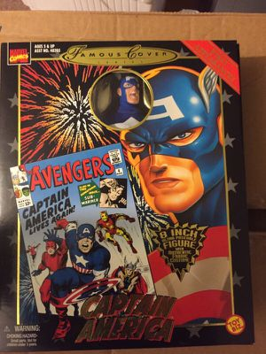 Marvels famous covers Captain America for Sale in Collingswood, NJ