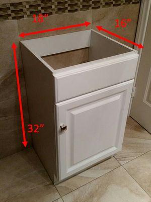 Bath Vanity 1 Door White - New for Sale in Las Vegas, NV