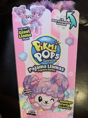 Pikmi Pops Giant Pajama Llama Poppy Sprinkles Scented Stuffed Animal for Sale in Hebron, CT