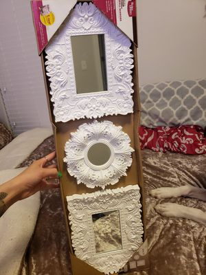 white wall mirrors for Sale in American Fork, UT