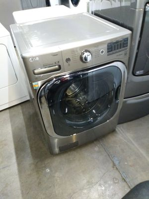 🌅LG washer large capacity steam nice🌄 for Sale in Houston, TX