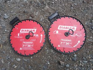 """DIABLO 9"""" Bi‑Metal Recip Blade 15 pack + 4 Diablo Framing Blades 71/4"""" 24 teeth for Sale in Everett, WA"""