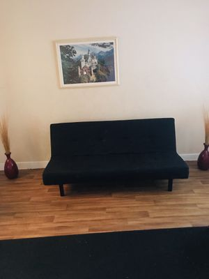 All black sofa couch for Sale in Miami, FL