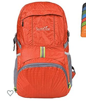 Sumtree 35L Ultra Lightweight Foldable Packable Backpack, Durable Hiking Daypack for Sale in Kansas City, MO