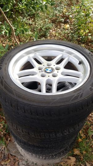 BMW rims and tires for Sale in Wilmington, NC