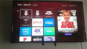TCL roku tv 55in for Sale in West Palm Beach, FL