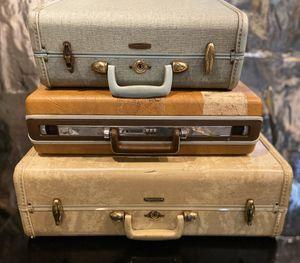 Antique trunk bundle SAMSONITE for Sale in Brooklyn Park, MN