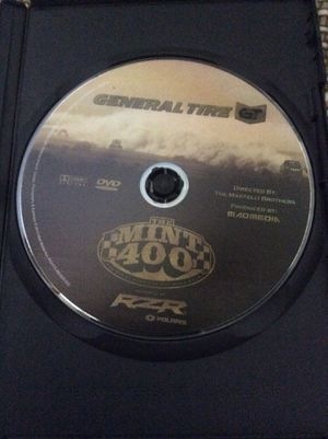 The Mint 400 Street Race 2013 Las Vegas NV DVD. for Sale in Mountain View, CA