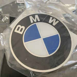 BMW Original Plaque With Adhesive 60mm for Sale in Rancho Santa Margarita, CA