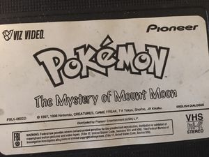 90s Pokémon Yu-Gi-Oh Digimon VHS tapes for Sale in Canton, IL