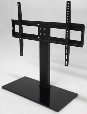 New in box Universal fits 30 to 60 inch tv television stand replacement 120 lbs capacity dresser table tv stand tv mount for Sale in El Monte, CA